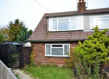 Thumbnail 3 bed property for sale in Bramble Crescent, Durrington, Worthing, West Sussex