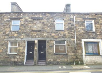 Thumbnail 2 bed terraced house for sale in High Street, Pwllheli, Gwynedd