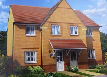 Thumbnail 3 bedroom property to rent in Shackleton Close, Oakley Vale, Corby