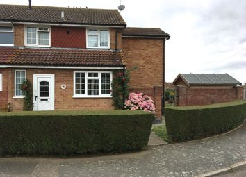 Thumbnail 3 bed semi-detached house for sale in Bradfield Avenue, Teynham, Kent