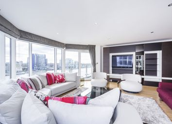 Thumbnail 3 bed flat to rent in Riverside Tower, Imperial Wharf, The Boulevard, London