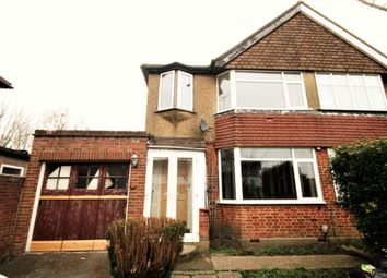 Thumbnail 3 bed semi-detached house to rent in Balmoral Road, Watford