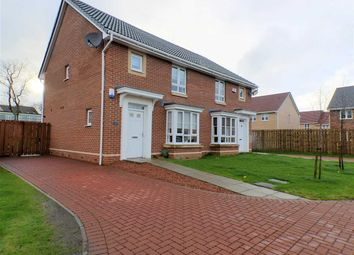 Thumbnail 3 bed semi-detached house for sale in Jasmine Avenue, East Kilbride, Glasgow