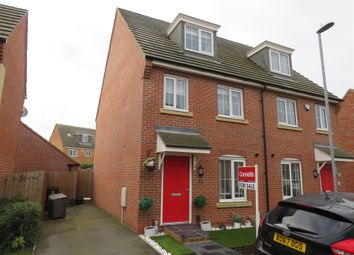 Thumbnail 3 bed semi-detached house for sale in Mayfly Road, Northampton