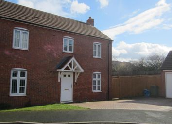 Thumbnail 3 bed detached house to rent in Caldera Road, Hadley, Telford