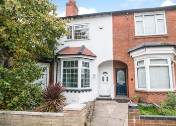 Thumbnail 2 bed terraced house for sale in Swindon Road, Edgbaston, Birmingham
