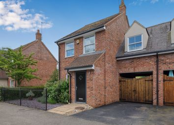 Thumbnail 3 bed link-detached house for sale in High Street, Puckeridge, Ware
