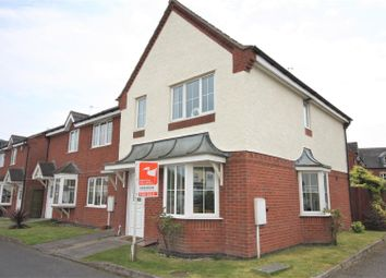 Thumbnail 3 bedroom town house for sale in Snibston Court, Ashby Road, Coalville
