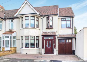 Thumbnail 4 bed end terrace house for sale in Woodstock Gardens, Goodmayes