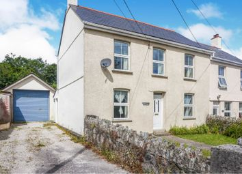 Thumbnail 4 bed semi-detached house for sale in Higher Bugle, St. Austell