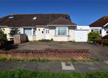 Thumbnail 4 bed semi-detached house for sale in Greet Road, Lancing, West Sussex