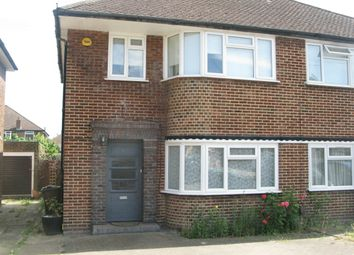 Thumbnail 3 bed semi-detached house to rent in Wychwood Close, Stanmore