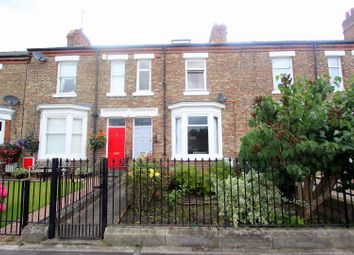Thumbnail 4 bed town house for sale in Peases Cottages, South Terrace, Darlington