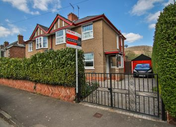 Thumbnail 3 bedroom semi-detached house for sale in Park Avenue, Abergavenny