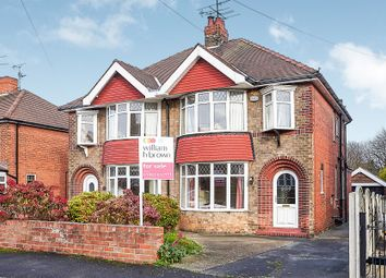 Thumbnail 3 bed semi-detached house for sale in Hillcrest Avenue, Hessle