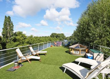 Thumbnail 2 bed houseboat for sale in The Ryepeck Mooring, Chertsey Road, Shepperton