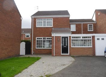 Thumbnail 3 bed detached house to rent in Chichester Grove, Bedlington