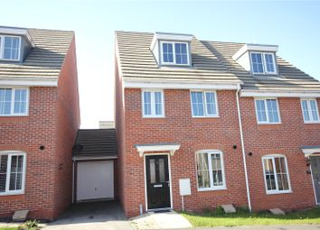 Thumbnail 3 bed semi-detached house for sale in Parliament Way, Clipstone Village, Nottinghamshire