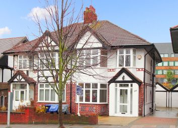 Thumbnail 3 bed semi-detached house for sale in Brunswick Road, London