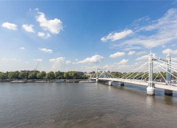 Thumbnail 3 bed flat for sale in Waterside Point, London