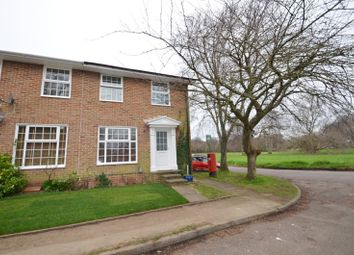 Thumbnail 3 bedroom end terrace house for sale in The Green, Burgh Heath