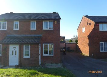 Thumbnail 2 bed semi-detached house to rent in Woodmere Way, Kingsteignton