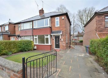Thumbnail 3 bedroom semi-detached house to rent in Agecroft Road West, Prestwich, Manchester