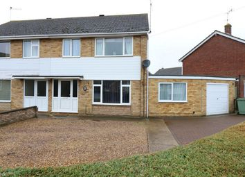Thumbnail 4 bed semi-detached house for sale in Rycroft Avenue, Deeping St James, Market Deeping, Lincolnshire