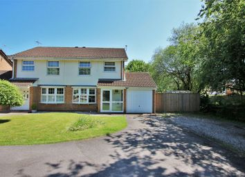 Thumbnail 3 bed semi-detached house for sale in Kent Close, Wokingham, Berkshire