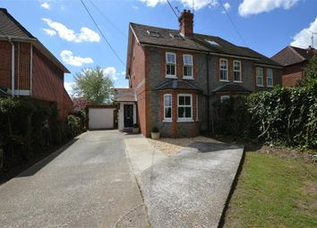 Thumbnail 4 bed semi-detached house for sale in Cutbush Lane, Shinfield, Reading