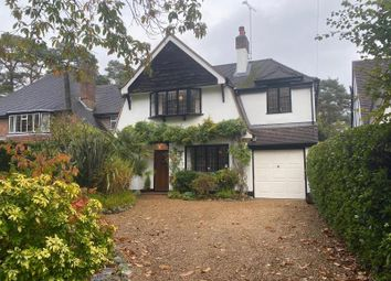 Thumbnail 4 bed detached house to rent in The Riding, Woking