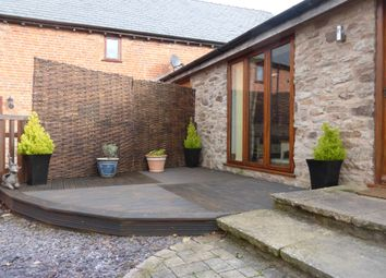 Thumbnail 1 bed barn conversion for sale in Merryhill Park, Belmont, Hereford