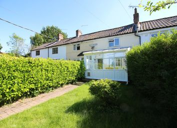 Thumbnail 2 bed terraced house for sale in Cookes Road, Thurton, Norwich