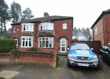 Thumbnail 3 bed semi-detached house for sale in Danesmoor Crescent, Darlington
