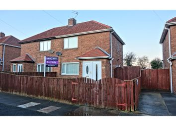 Thumbnail 2 bed semi-detached house for sale in Dudley Drive, Cramlington