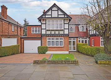 Thumbnail 4 bed semi-detached house for sale in The Fairway, Wembley, Middlesex