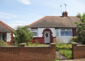 Thumbnail 2 bed bungalow to rent in Friars Crescent, Northampton