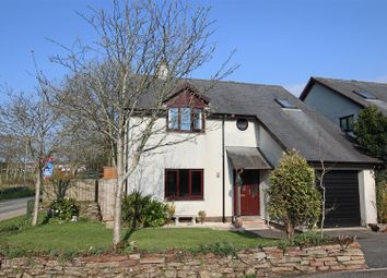 Thumbnail 4 bed detached house for sale in Hawkens Way, St. Columb