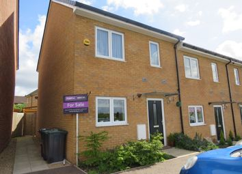 Thumbnail 3 bed end terrace house for sale in Little Meadow, Woodside Home Park, Woodside, Luton