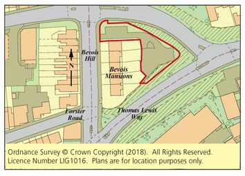 Thumbnail Property for sale in Land Around Bevois Mansions, Bevois Hill, Southampton