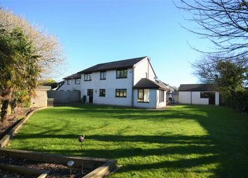 Thumbnail 4 bed detached house for sale in The Meadow, Illogan, Redruth, Cornwall