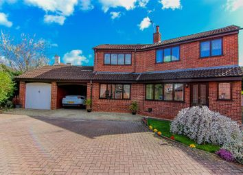 Thumbnail 4 bed detached house for sale in Chamberlain Close, Cubbington, Leamington Spa