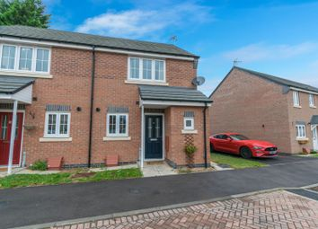Thumbnail 2 bed town house for sale in Heatherley Grove, Wigston