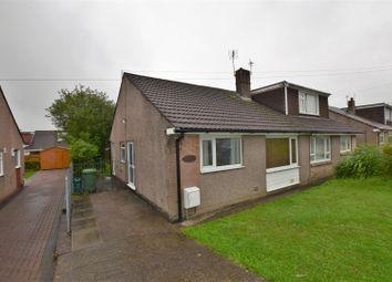 Thumbnail 2 bed semi-detached bungalow for sale in Heol Clwyddau, Beddau, Pontypridd