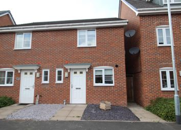 Thumbnail 2 bed semi-detached house for sale in Saw Mill Way, Burton-On-Trent