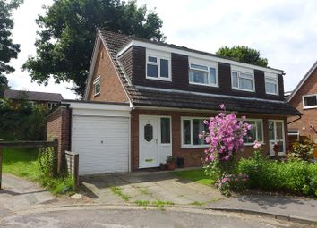 Thumbnail 3 bed semi-detached house for sale in Lorgill Close, Stockport