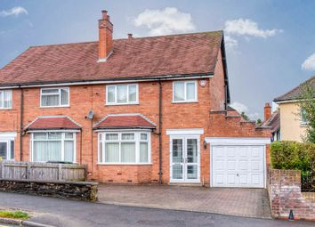 Thumbnail 3 bed semi-detached house for sale in Vicarage Crescent, Batchley, Redditch