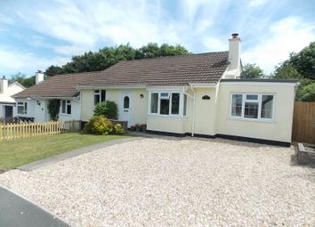 Thumbnail 3 bed semi-detached bungalow for sale in Prouts Way, Tregadillett, Launceston