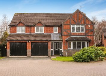 Thumbnail 5 bed detached house for sale in Dunmow Avenue, Harley Bakewell, Worcester