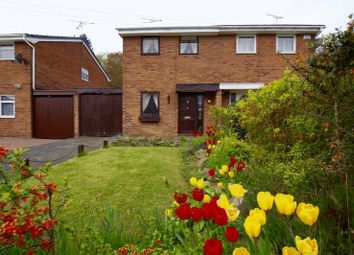 Thumbnail 2 bed semi-detached house for sale in Ashburn Way, Wrexham